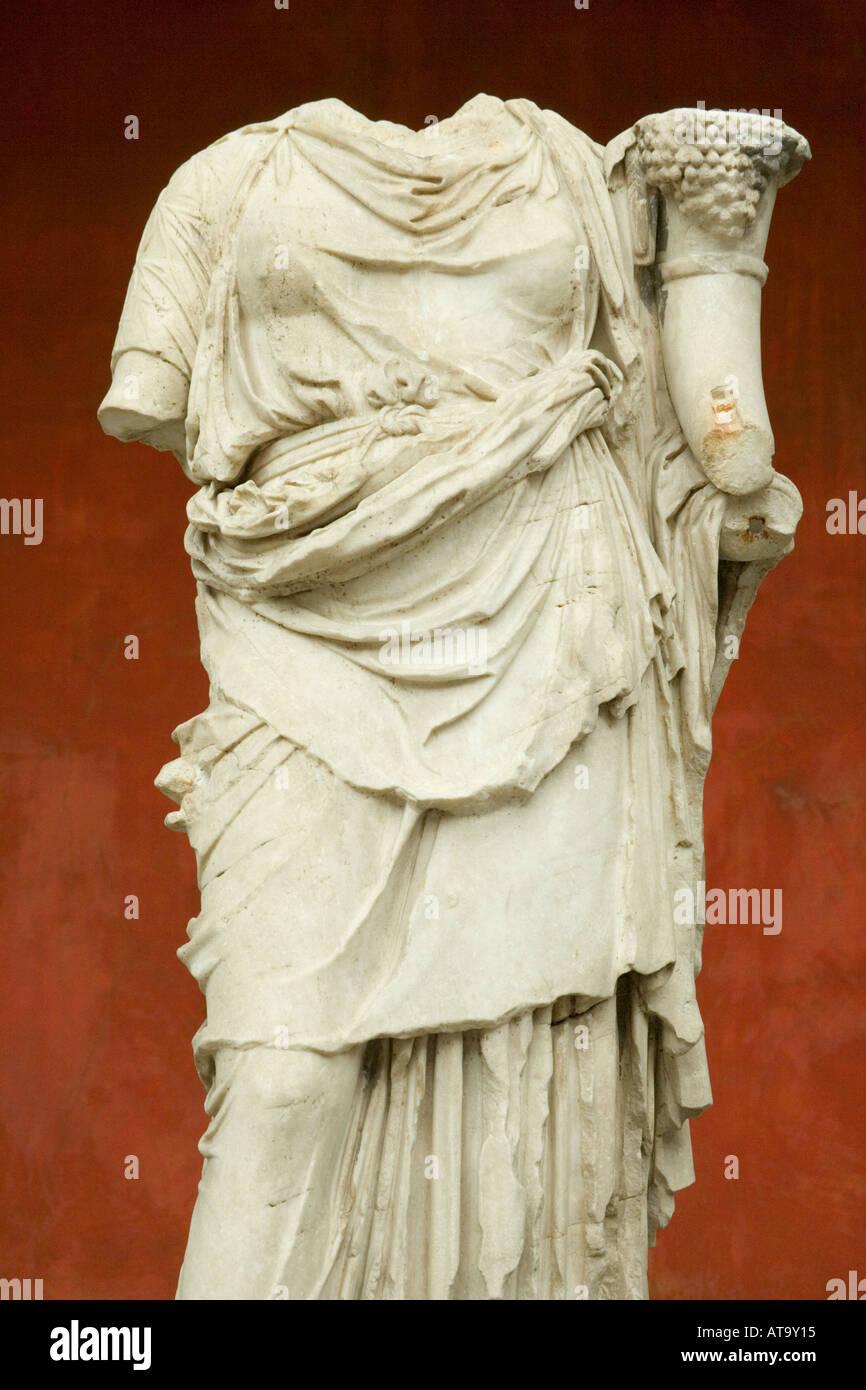 Copenhagen Denmark Ny Carlsberg Glyptotek Roman sculpture - Stock Image