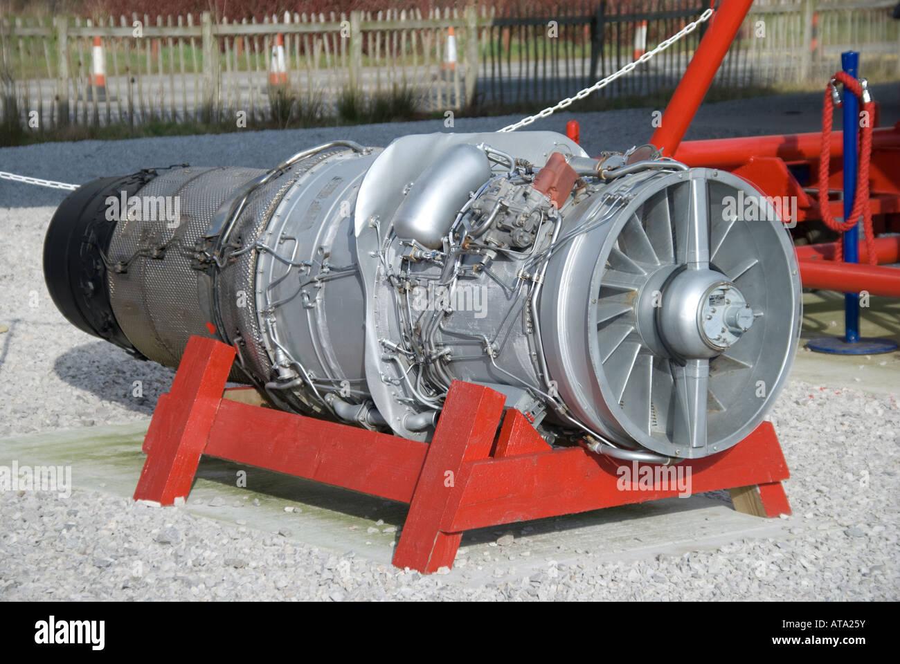 Rolls Royce Spey 505 Jet Engine - Stock Image