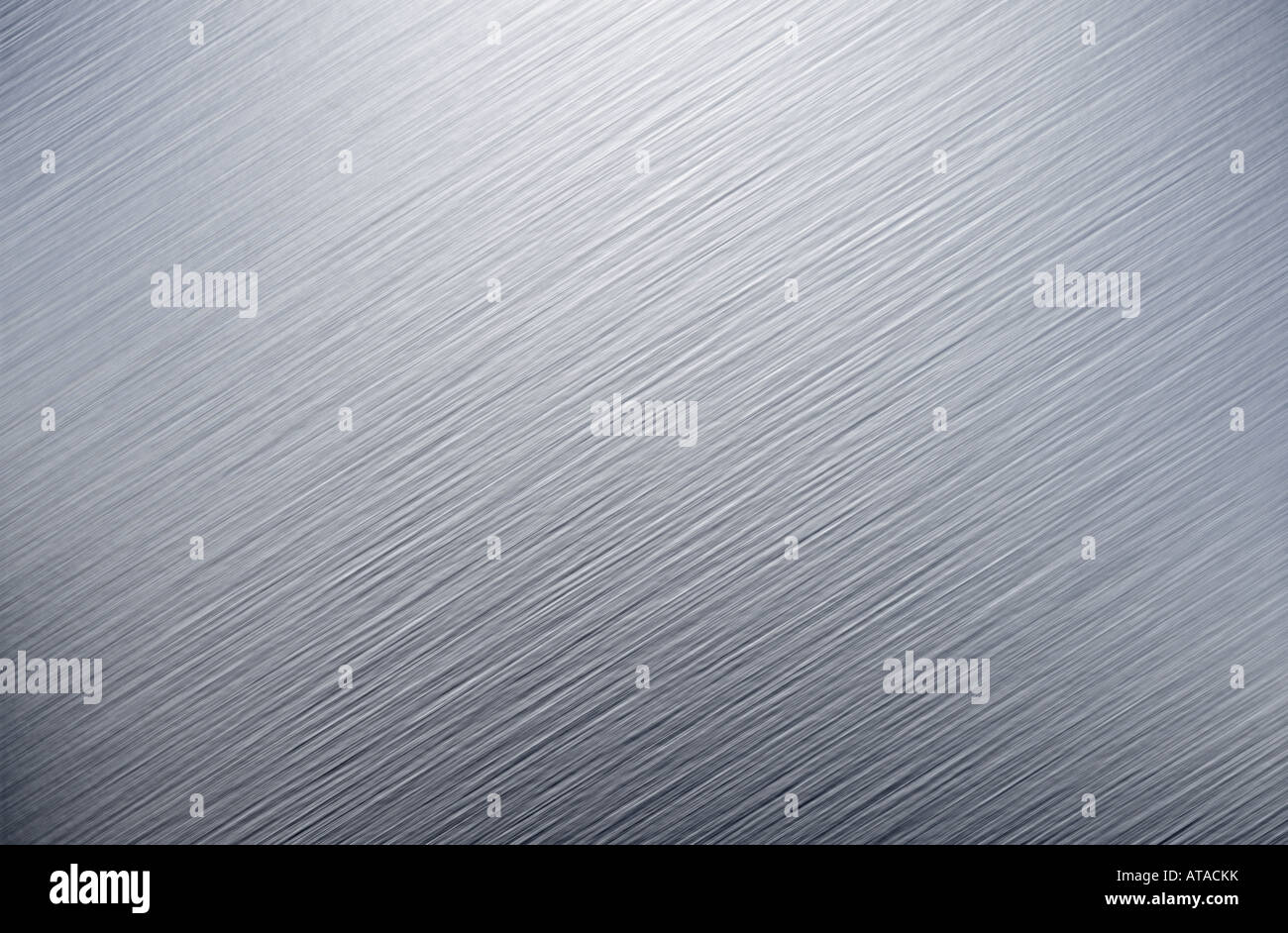 very large sheet of brushed steel metal - Stock Image