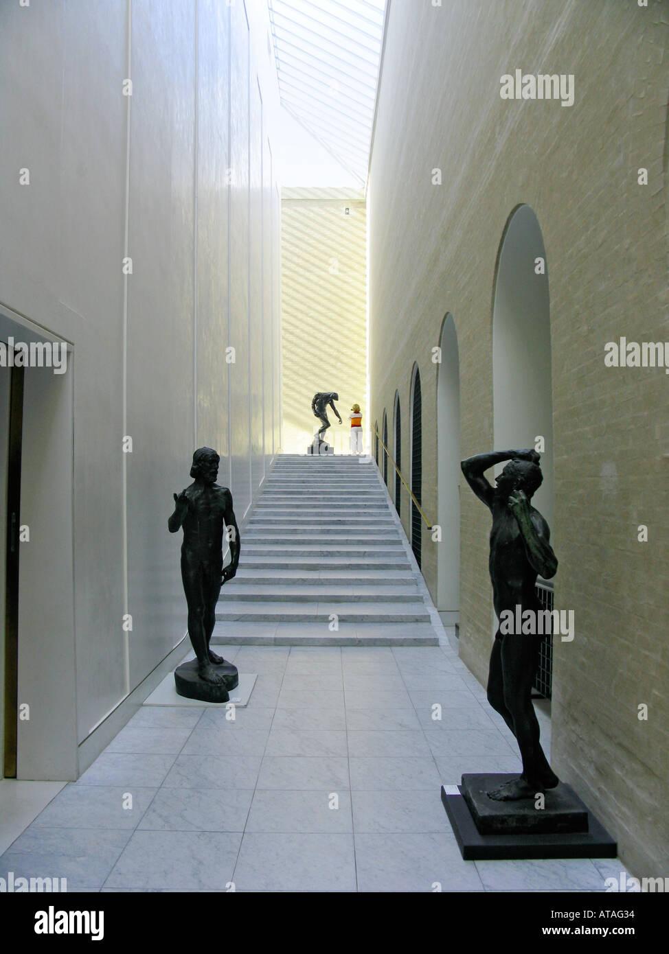 Copenhagen Denmark Interior Ny Carlsberg Glyptotek - Stock Image