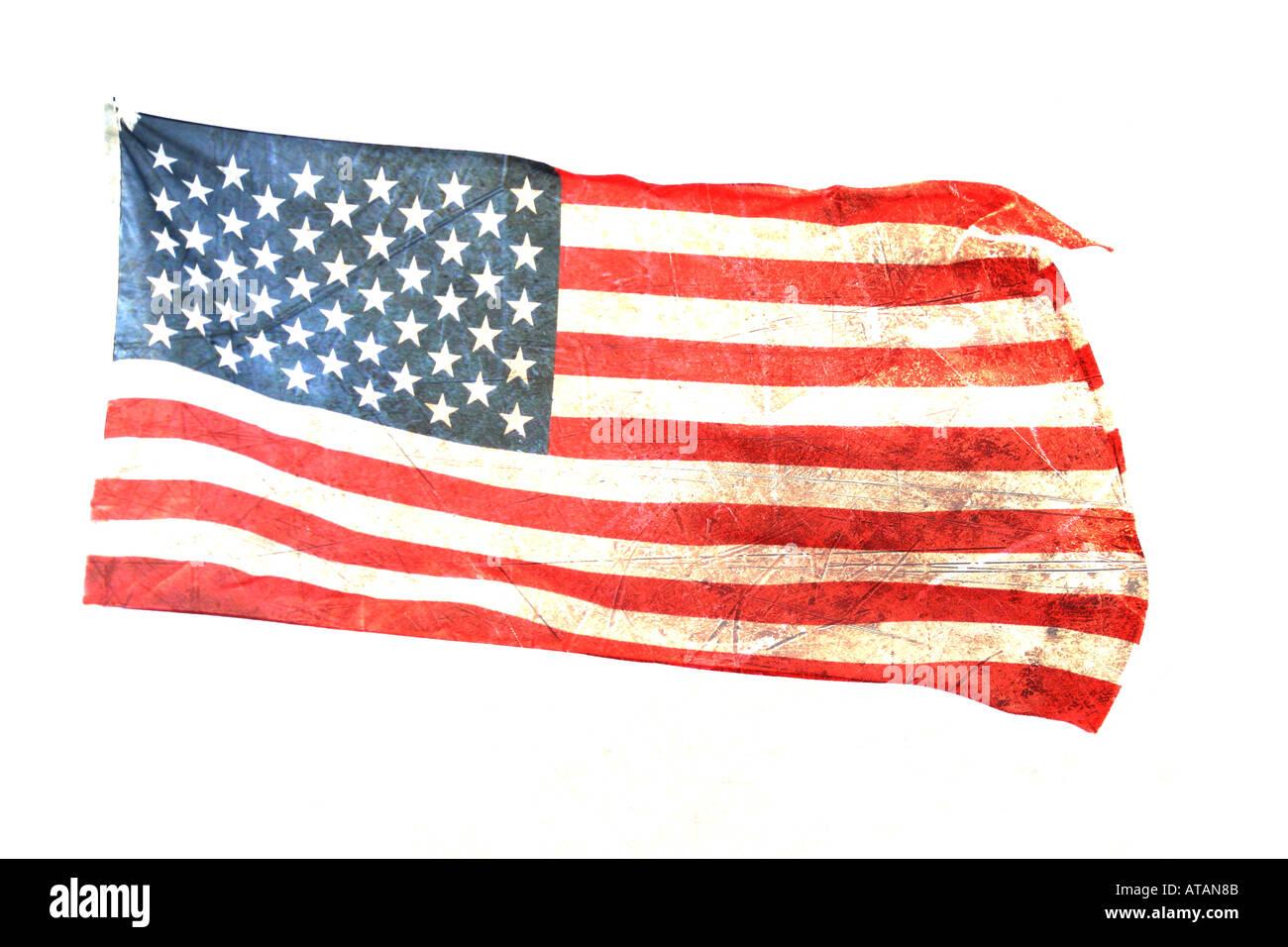 american flag 2 - Stock Image
