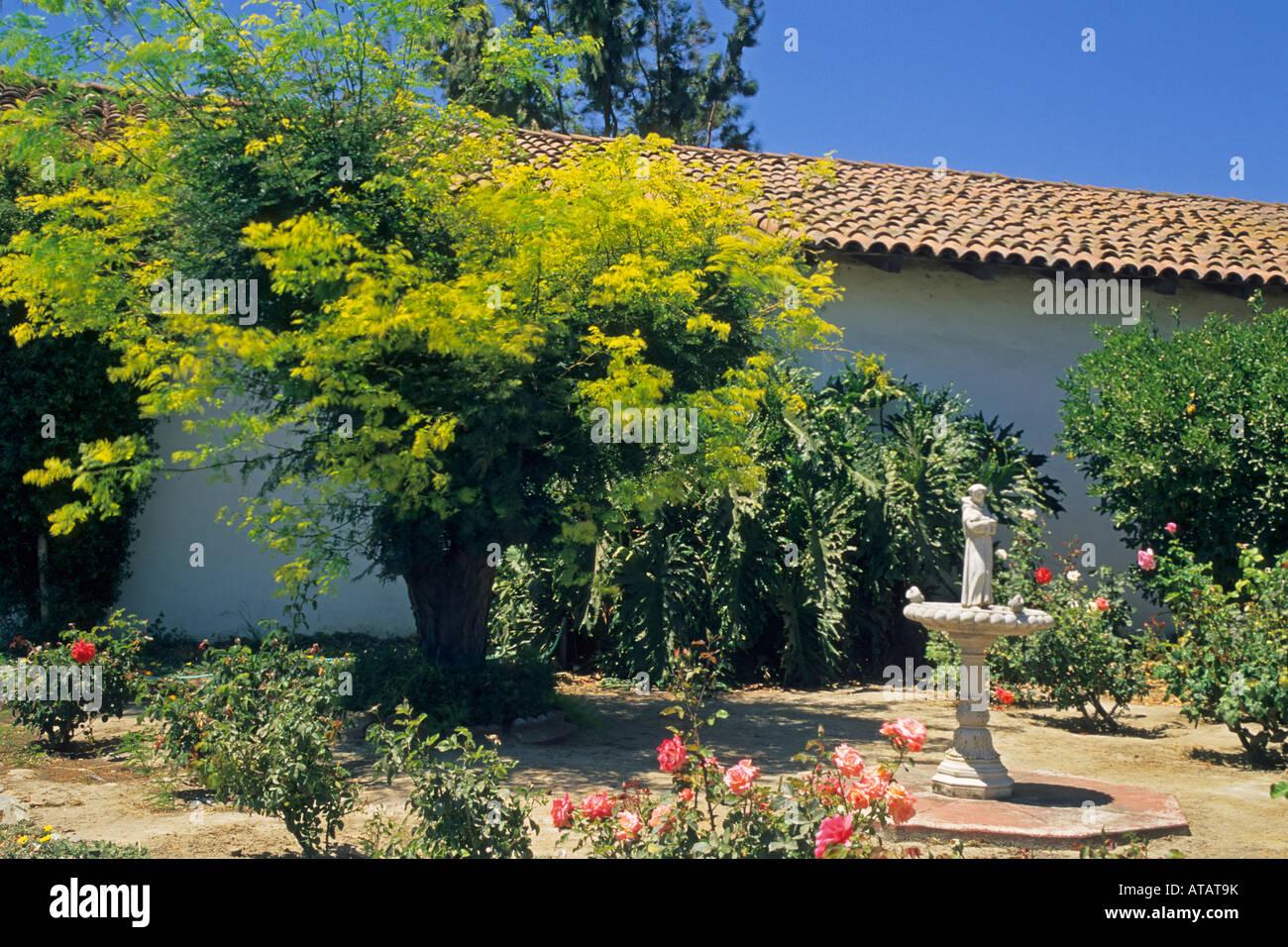 Mission Neustra Senora de la Soledad est 1791 Salinas Valley Monterey County California - Stock Image