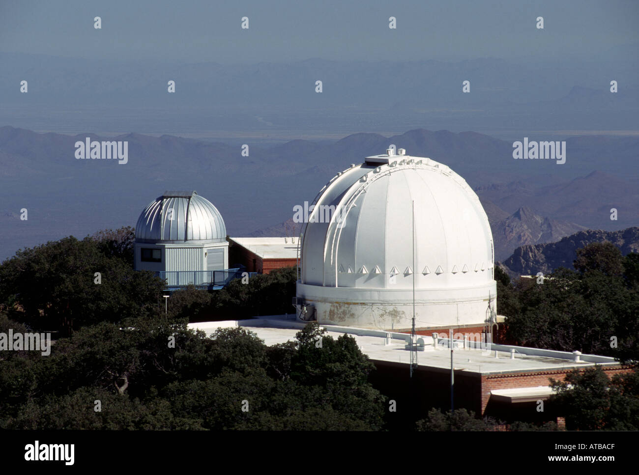 Kitt Peak National Optical Astronomy Observatories Arizona - Stock Image