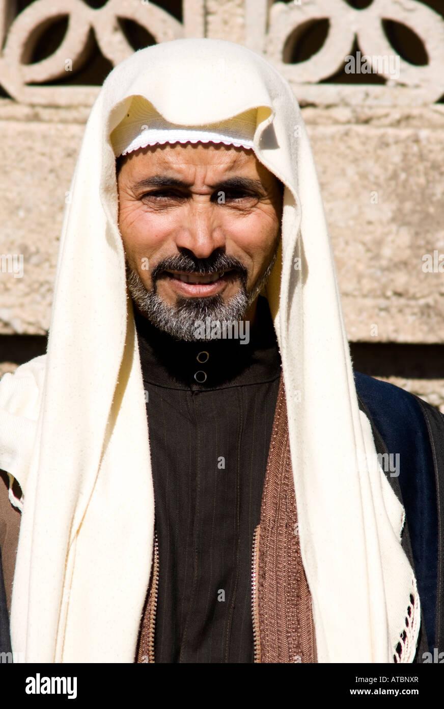 traditiona clothing, Philippopolis, Syria - Stock Image