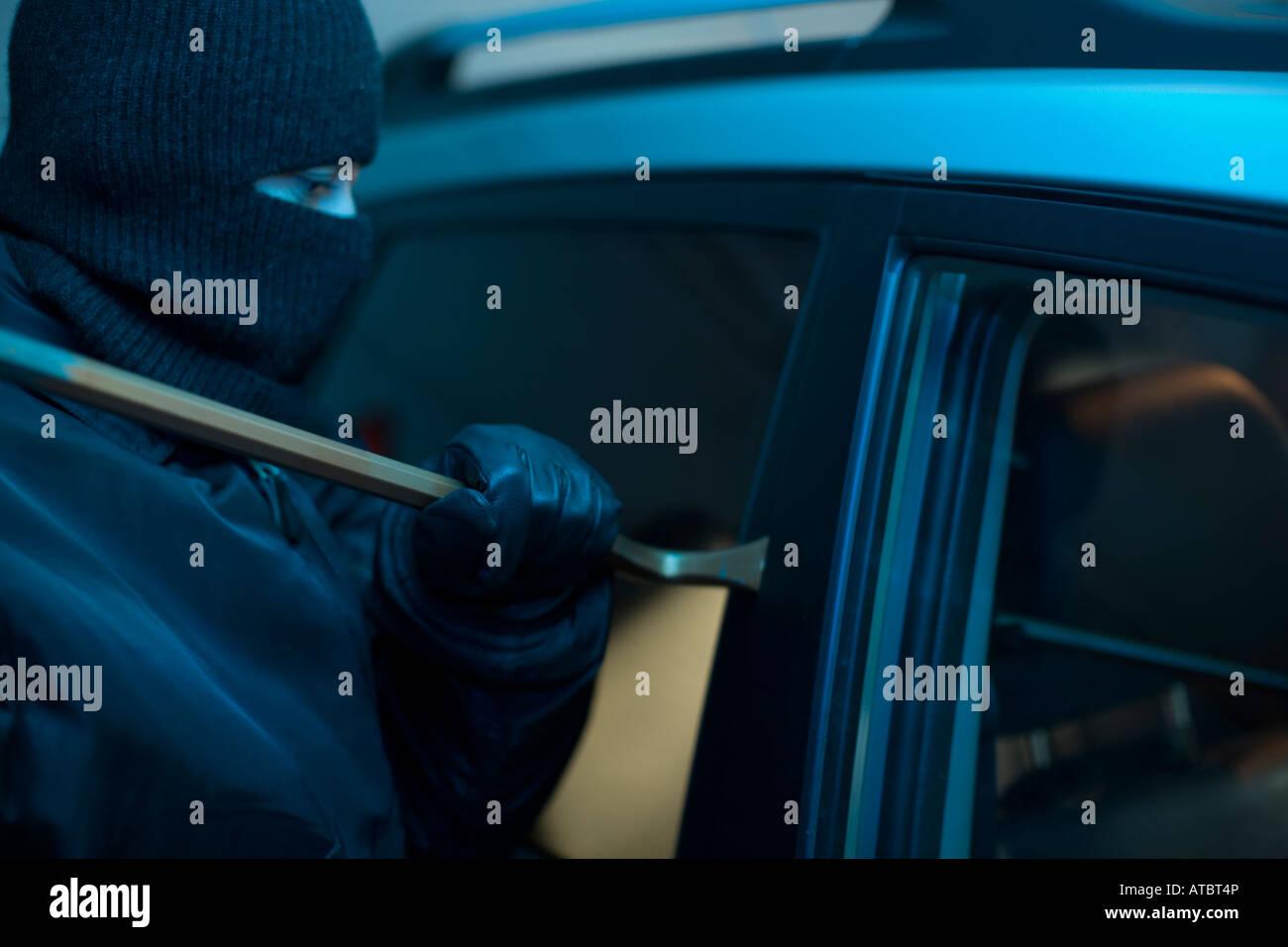 car thief - Stock Image
