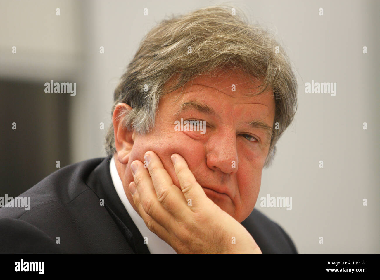 Juergen Grossmann CEO RWE AG Essen Germany - Stock Image