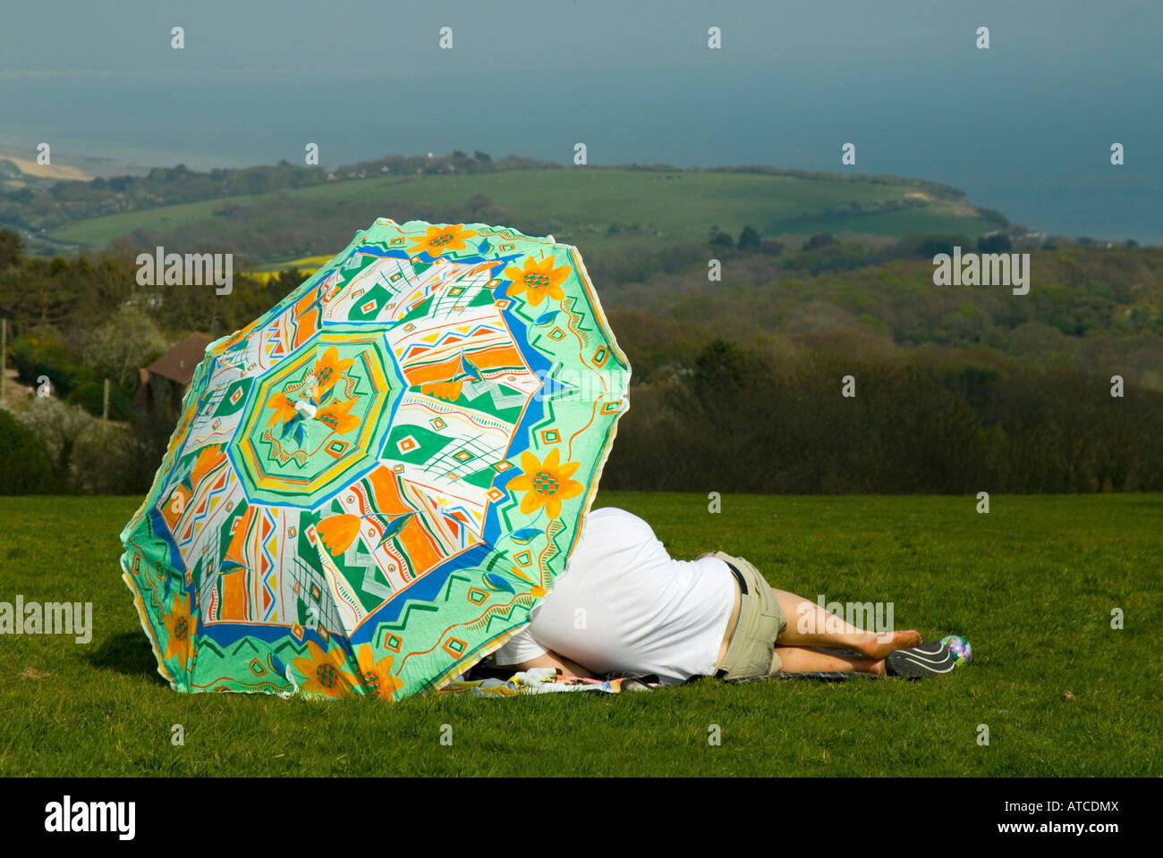 Couple relaxing - Stock Image