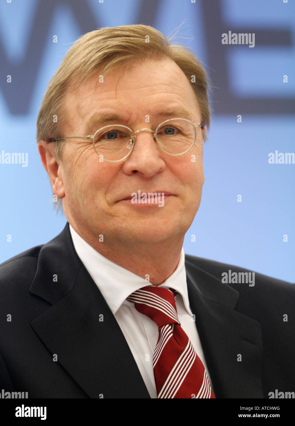 Berthold Bonekamp management board RWE AG Essen Germany electric utility - Stock Image