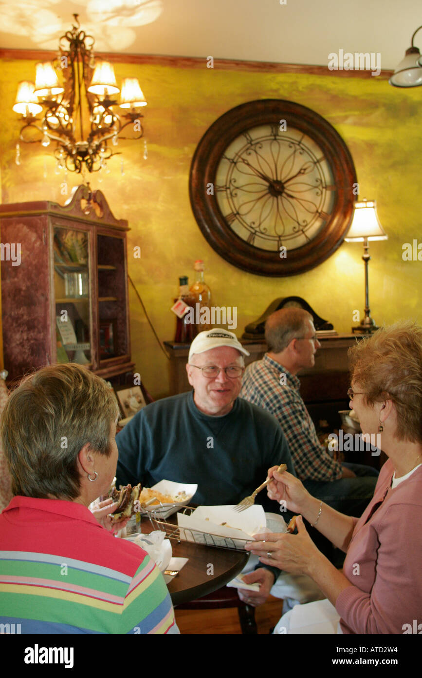 Indiana Gary Miller The Bakers House Restaurant Lunch Men Women