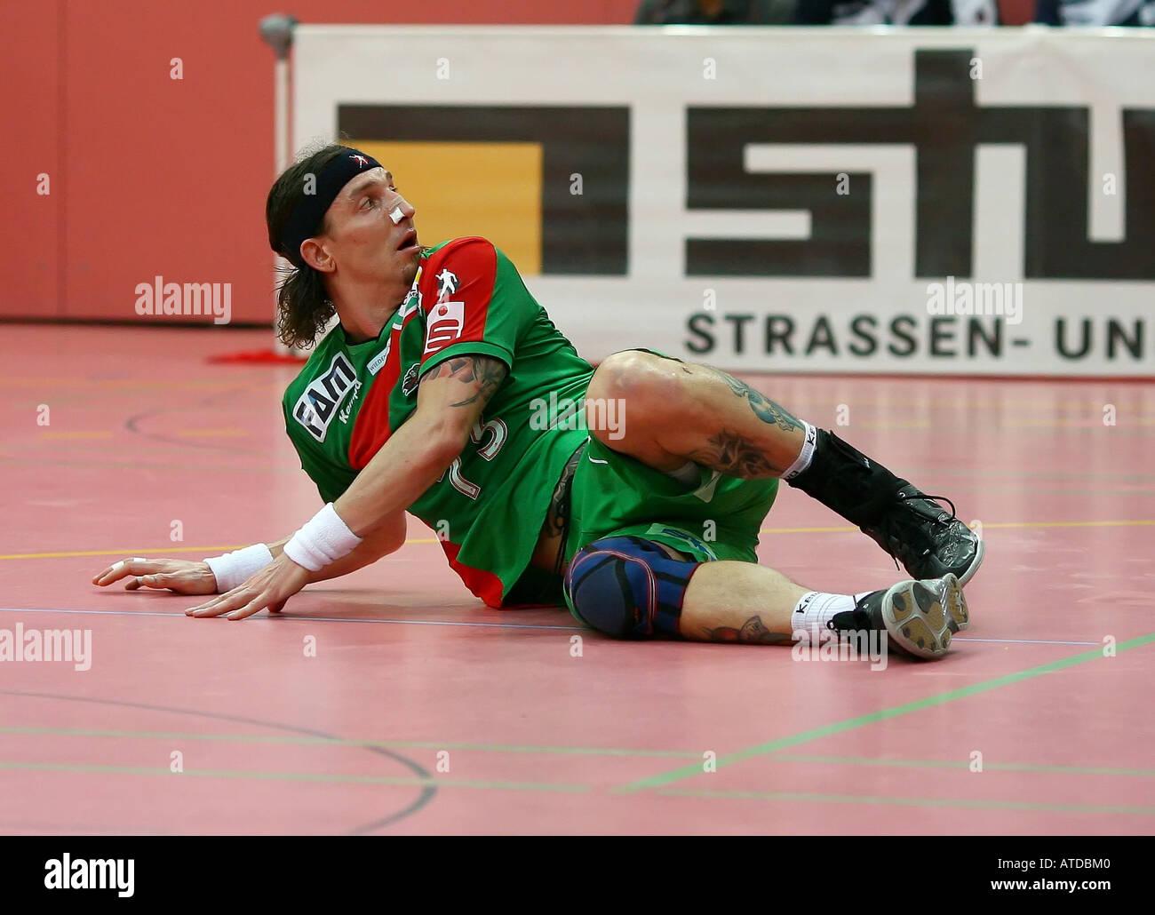 Stefan Kretzschmar - SC Magdeburg - Stock Image