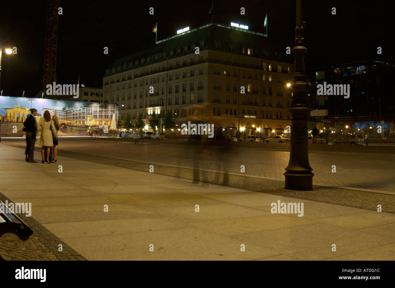 Nightlife Berlin Woman Stock Photos Nightlife Berlin Woman Stock