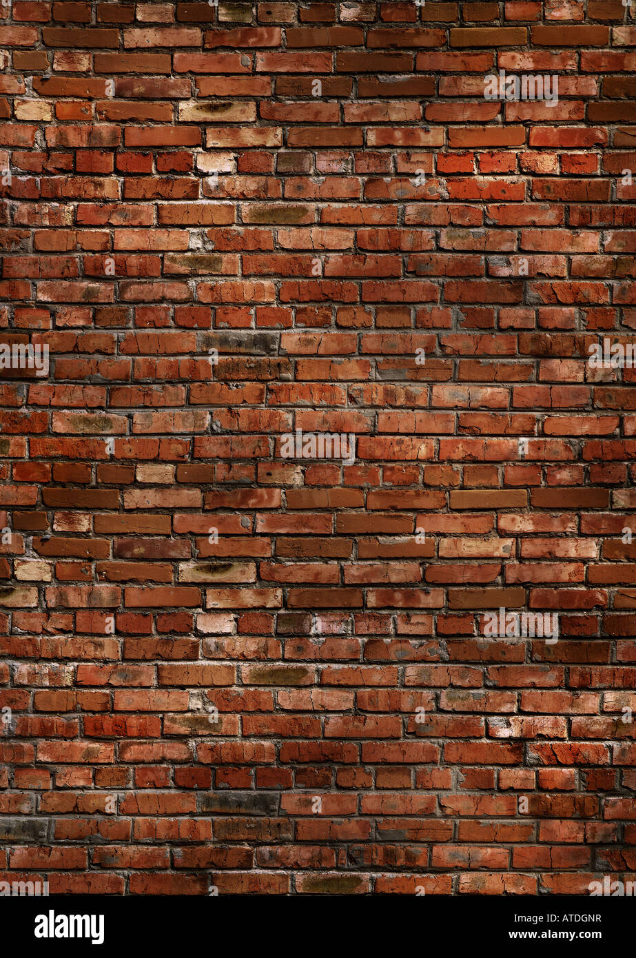 Dark Red Brick Wall Texture