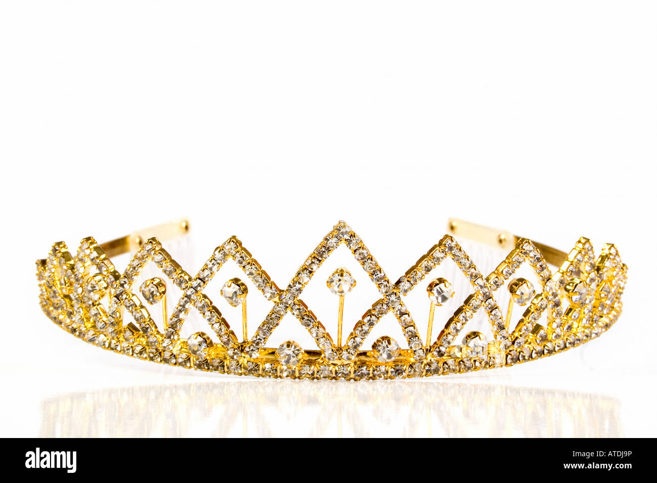 Queen crown - Stock Image