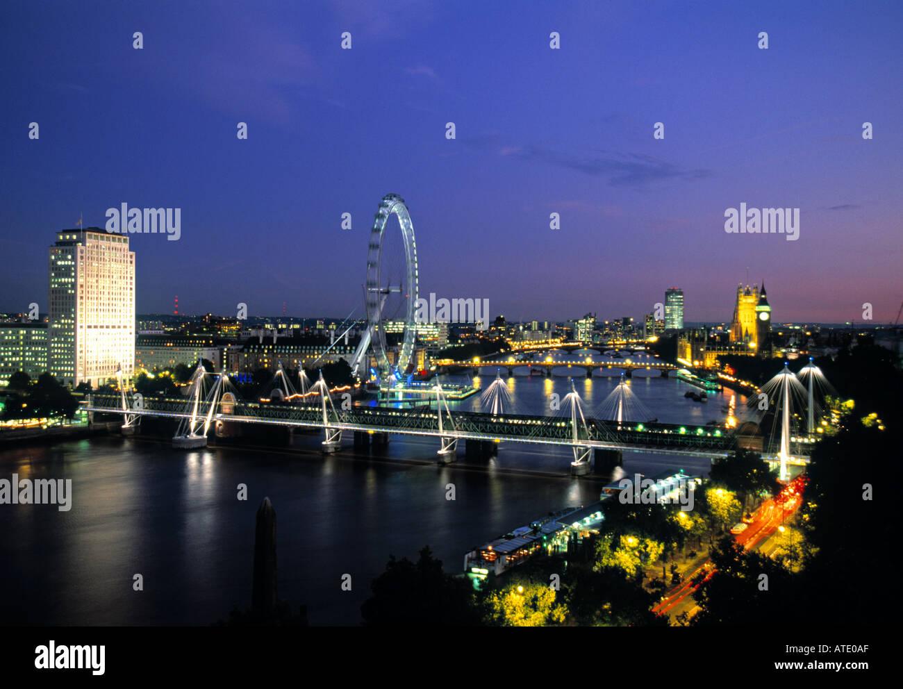 River Thames, London, England Stock Photo