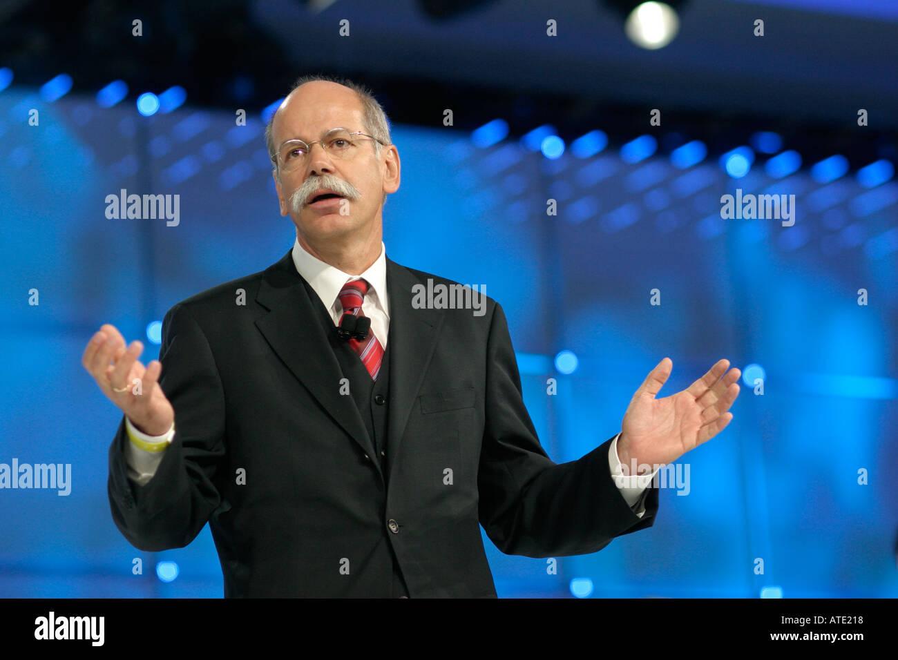 Dieter Zetsche - Stock Image
