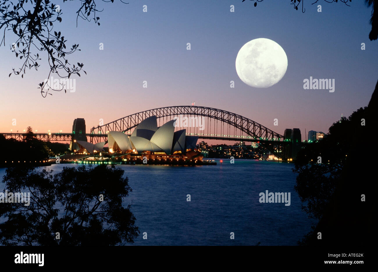 Sydney Bay - Stock Image