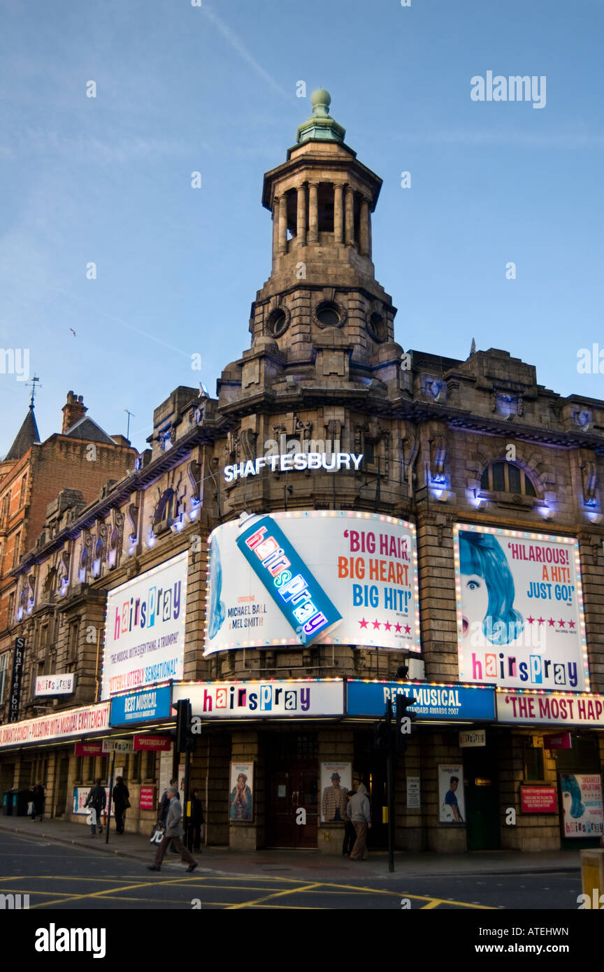 Shaftesbury Theatre - Stock Image