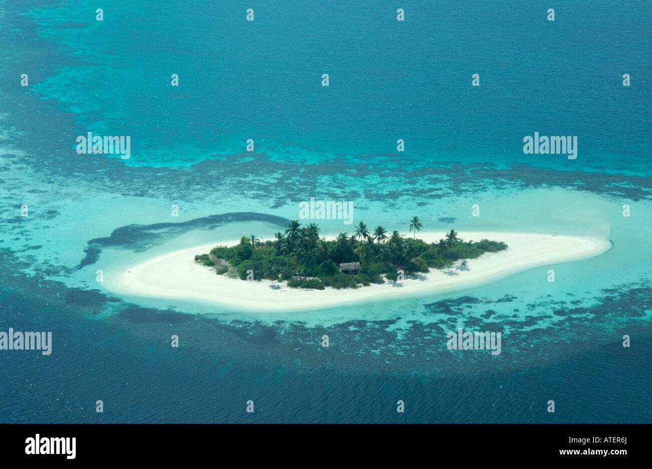 Tropical Island / Tropische Insel - Stock Image