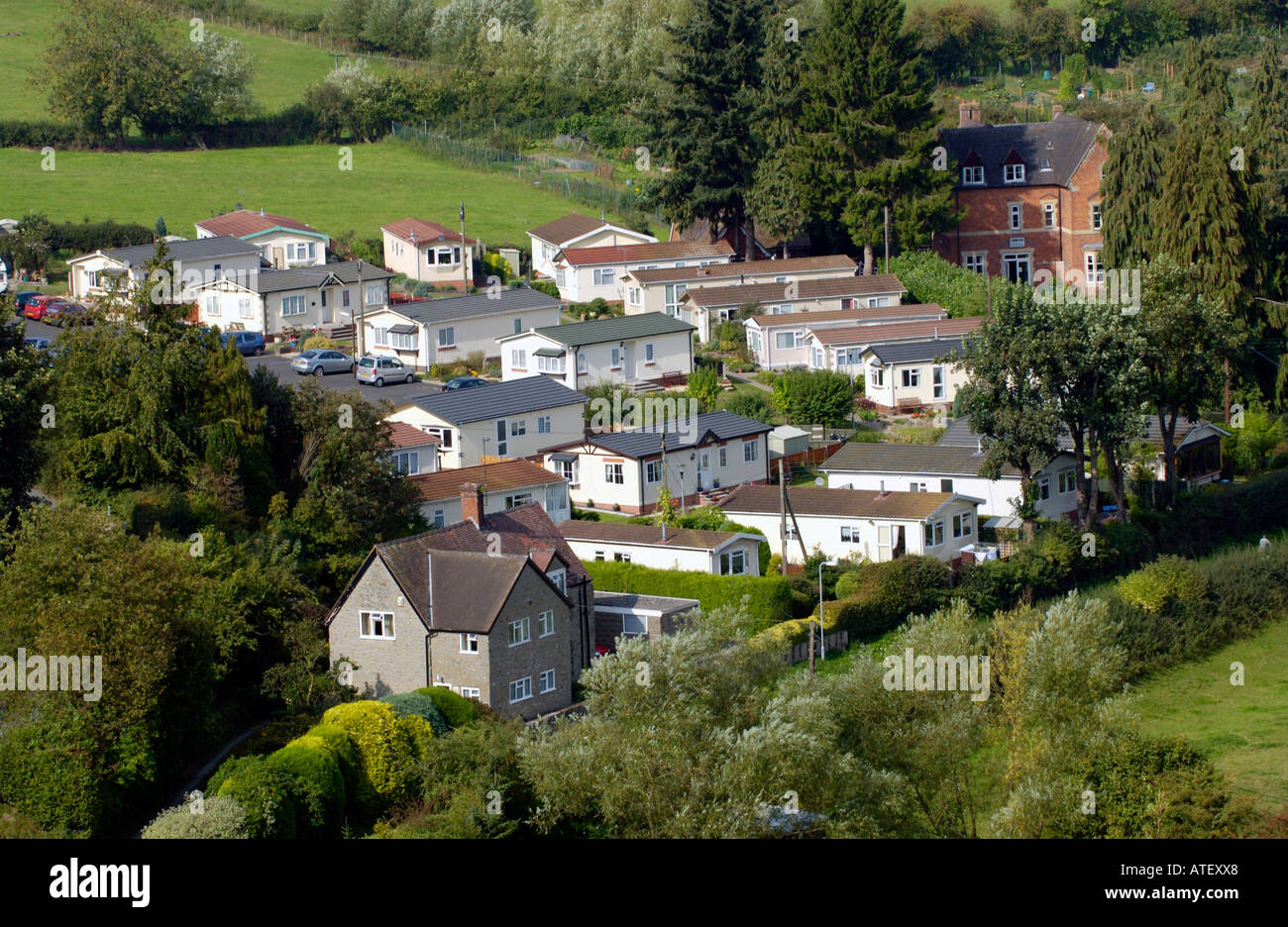 Small mobile home park in countryside on outskirts of historic town on countryside boston homes, countryside landscaping, countryside cottages, countryside churches, countryside sheds,
