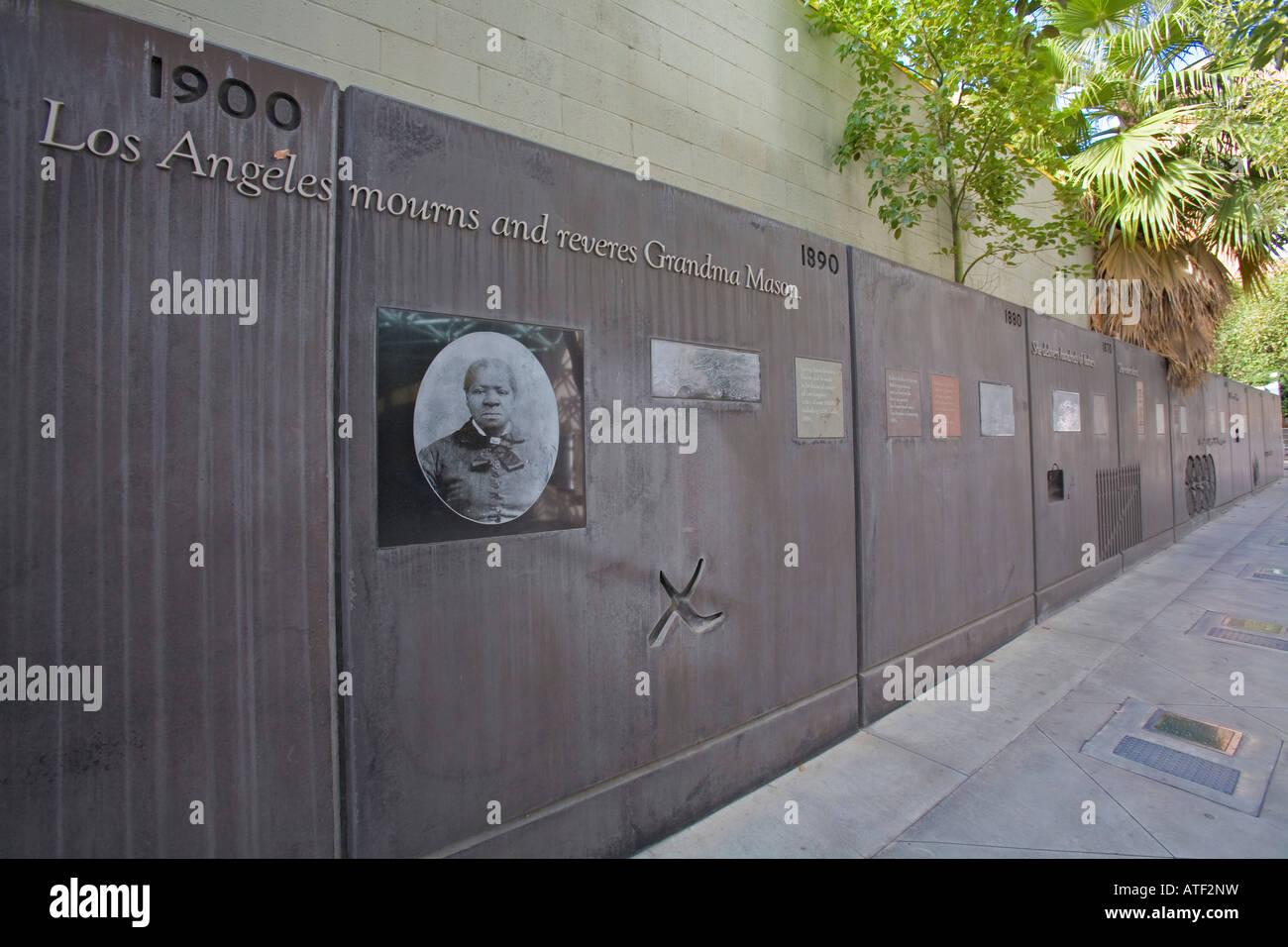 Biddy Mason Park Broadway Spring Center Los Angeles Usa Stock Photo Alamy