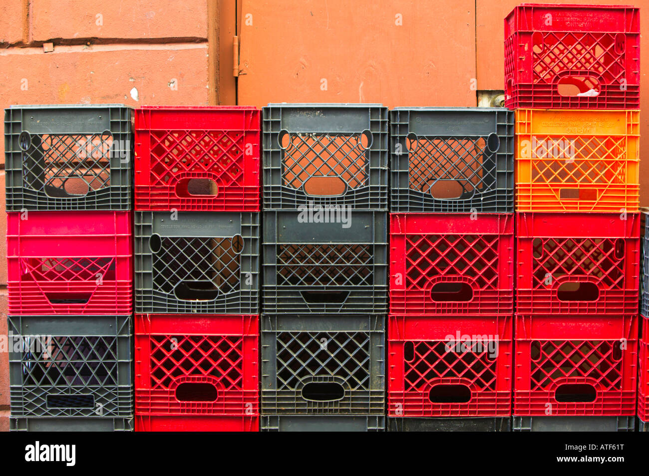 Image result for stack of milk crates