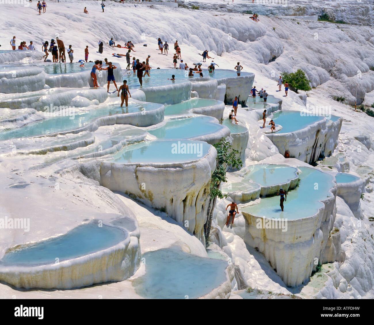 Pamukkale Cotton Castle Travertine Pools Unesco