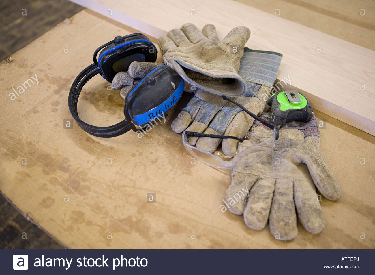 Protective clothing - Stock Image