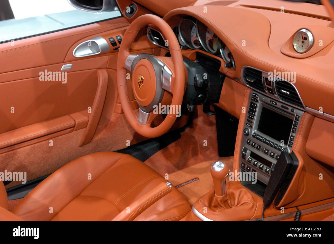 2005 Porsche Boxster Interior
