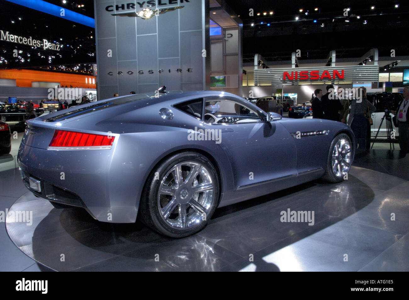 Chrysler Firepower concept car at the North American International ...
