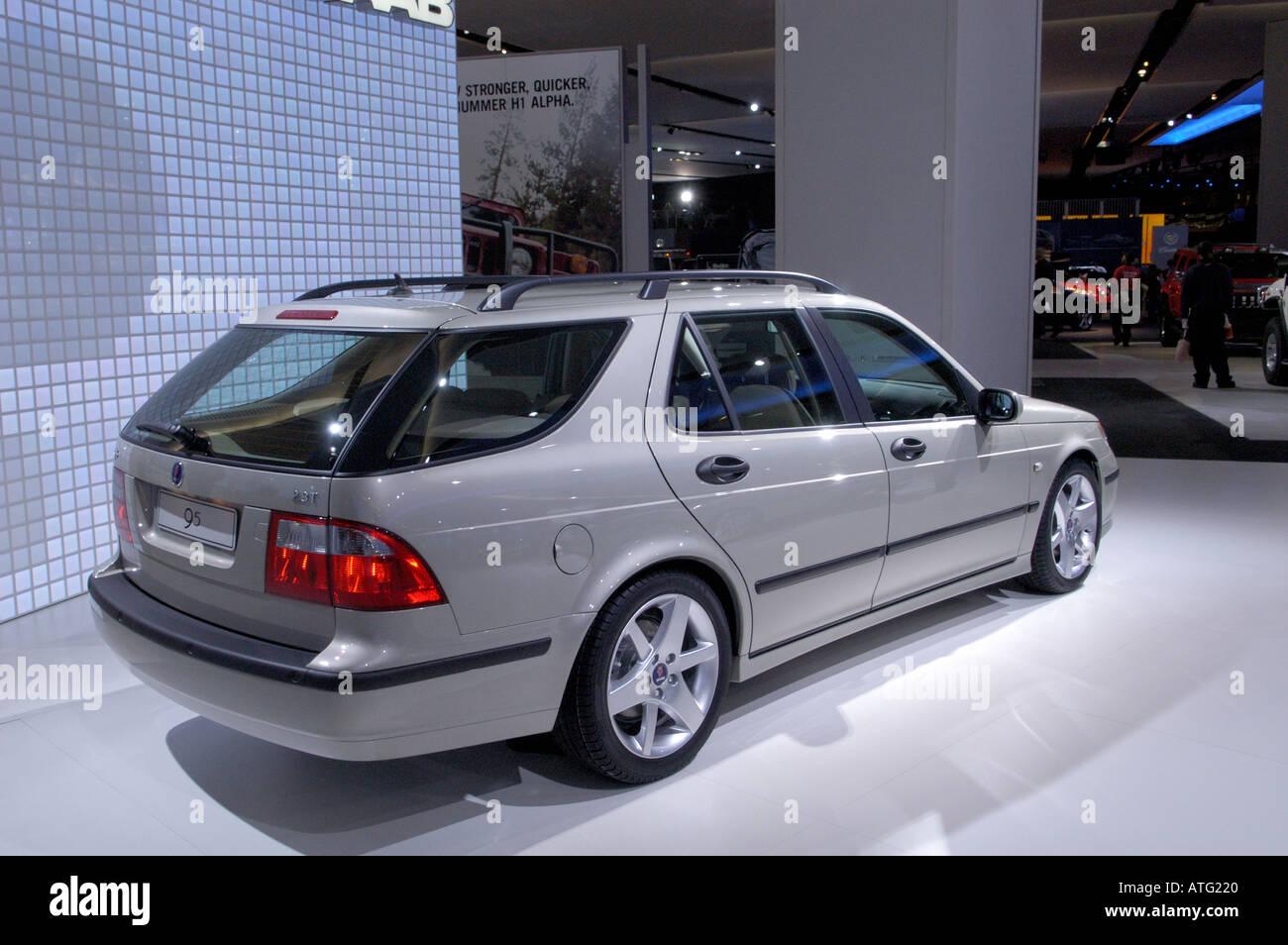 2005 Saab 9 5 Wagon At The North American International Auto Show