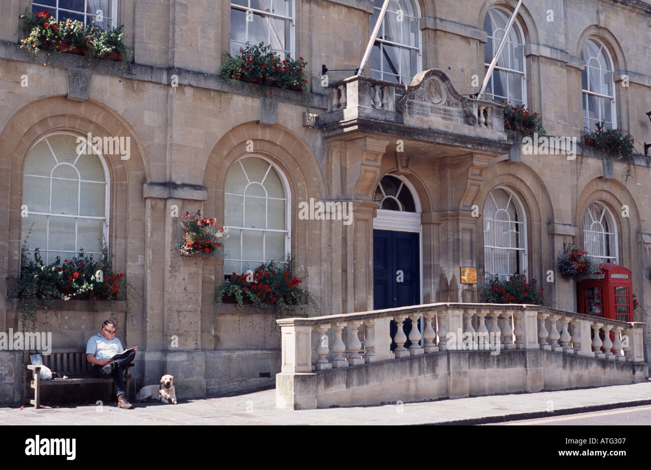 Corsham Town Council offices Wiltshire, England UK Stock Photo