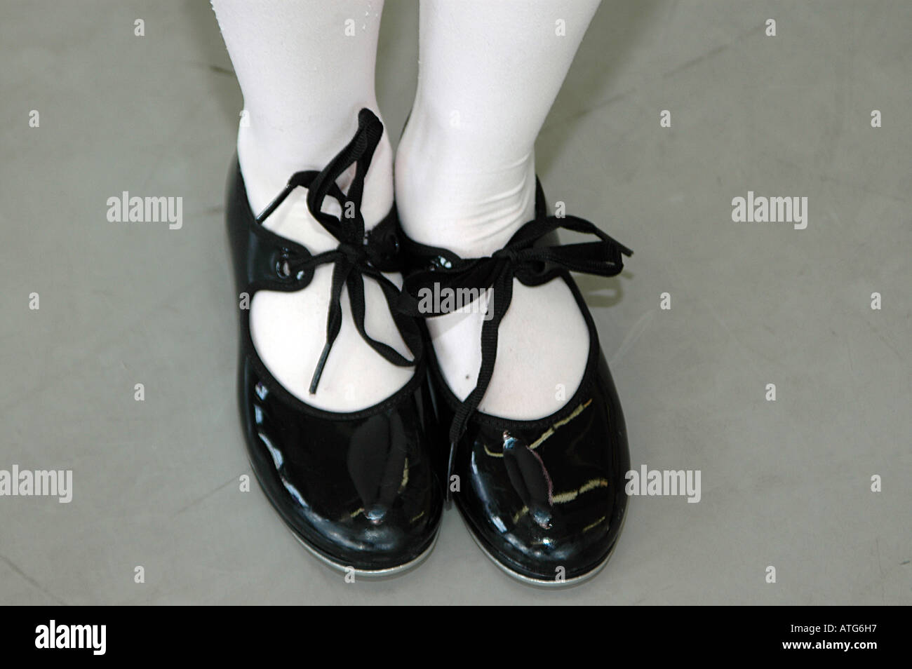 Tap Dance Shoes High Resolution Stock