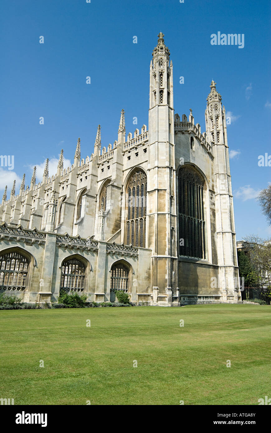 Kings college chapel cambridge - Stock Image