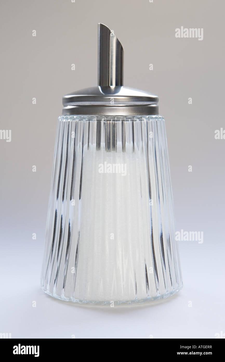 Sugar dispenser - Stock Image