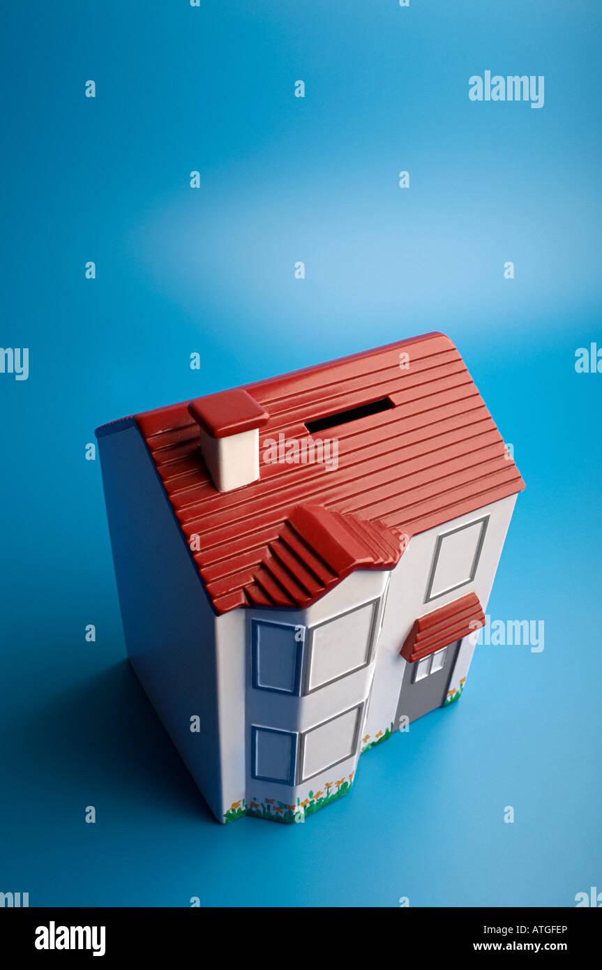 House money box - Stock Image
