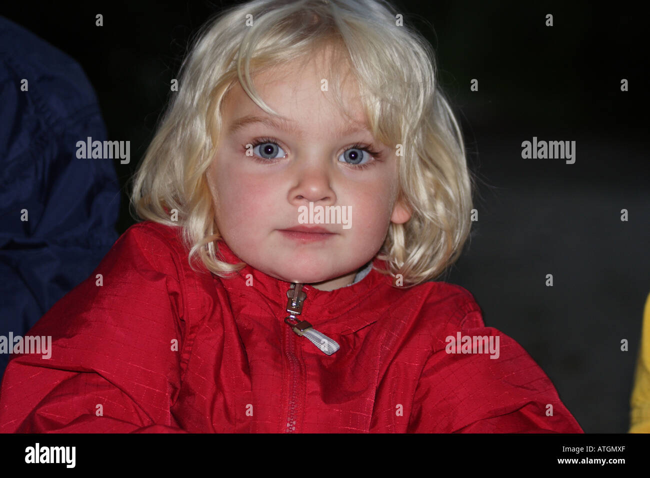 Blondy beatifull girl. - Stock Image