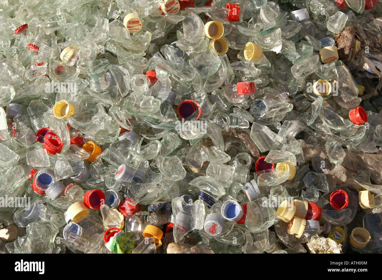 Bulk Recycled Glass