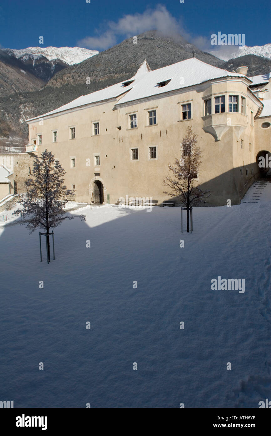 Rennaissance Castle Goldrain, Italy Stock Photo