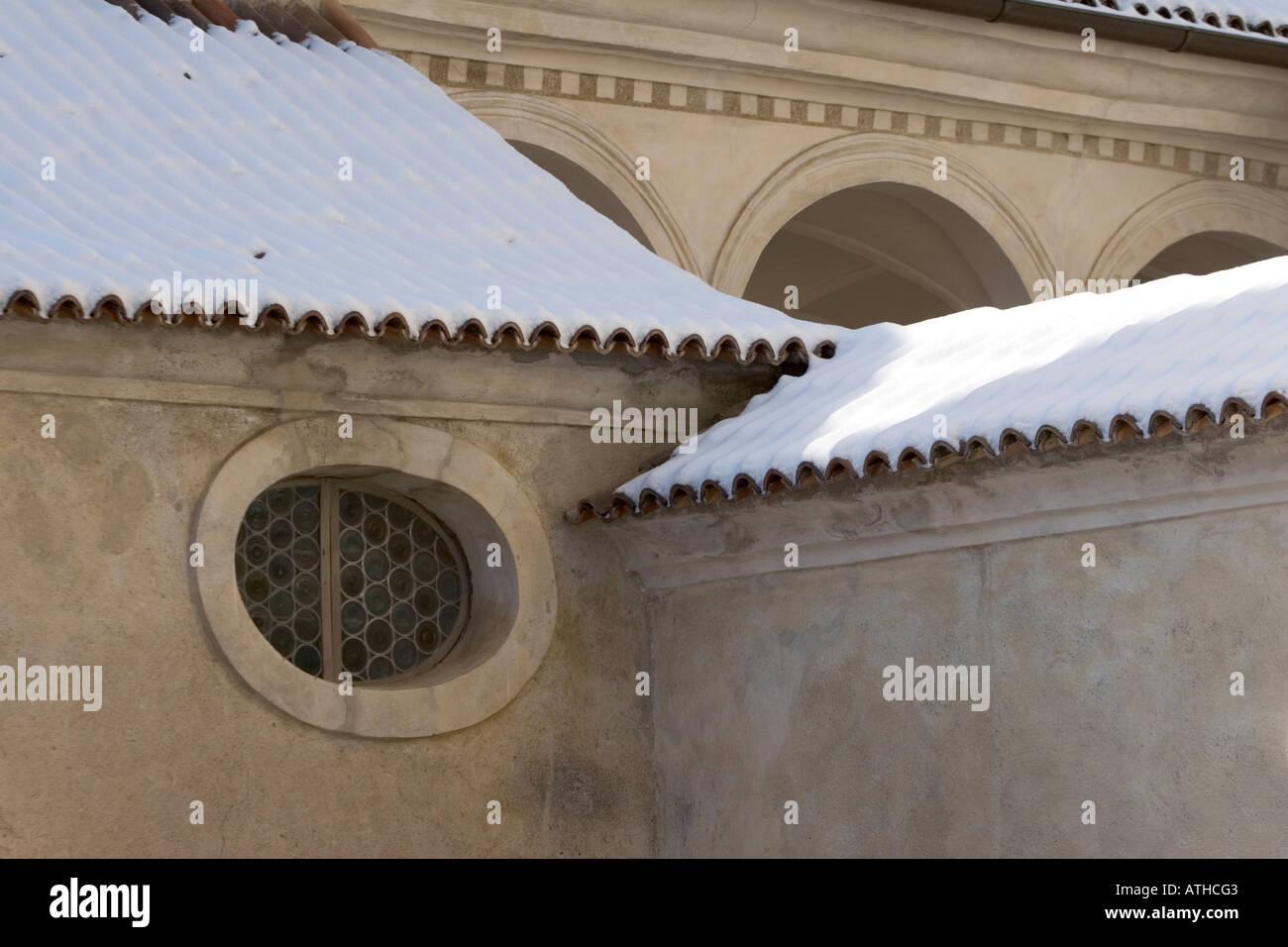 Rennaissance Schloss Goldrain, Italy Stock Photo