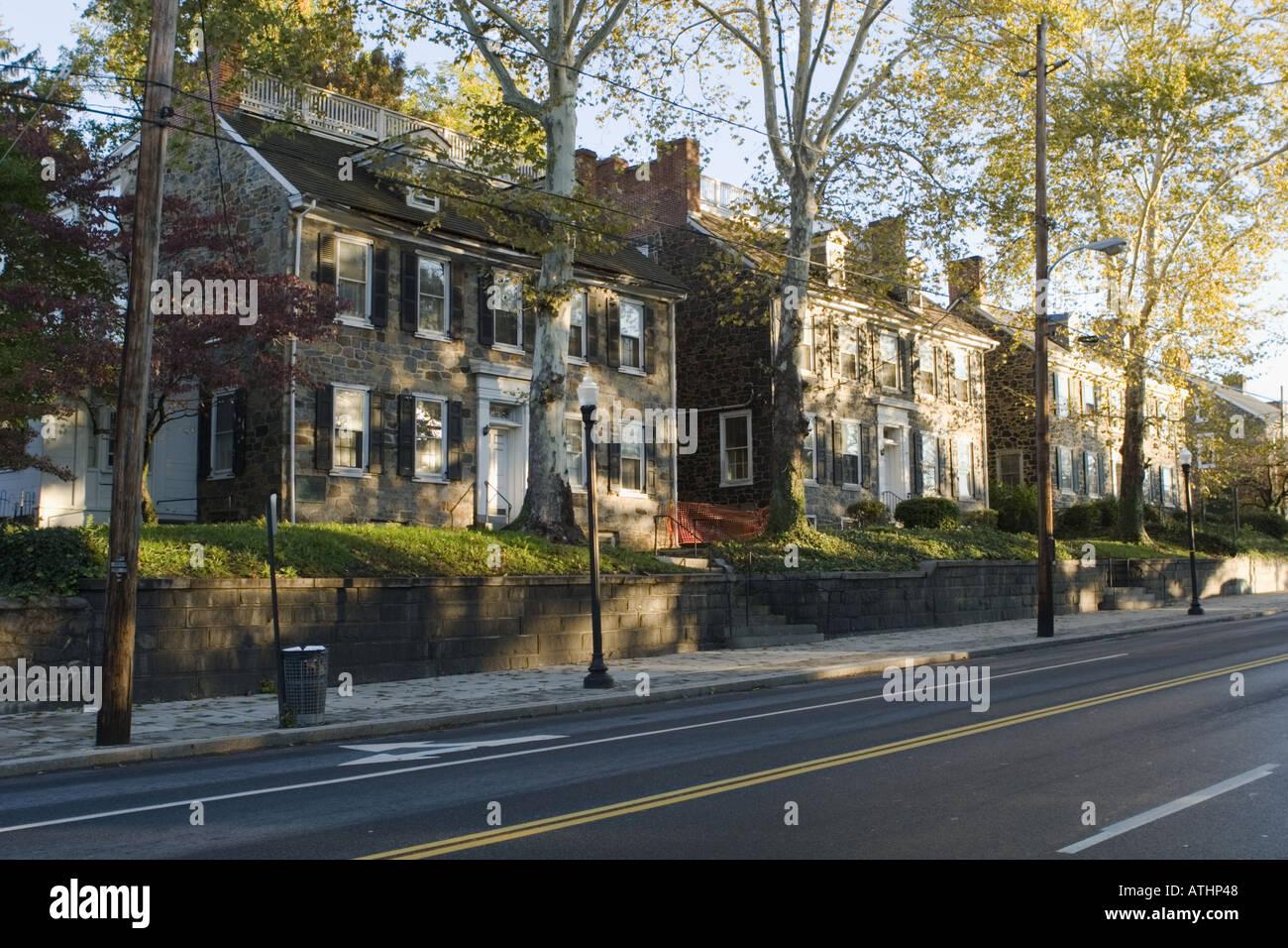 Brandywine Mills Wilmington Delaware - Stock Image