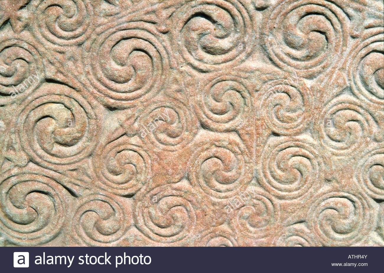 Celtic engraving stock photos