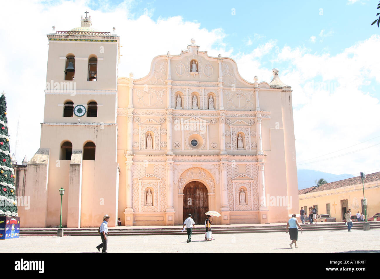 In Comayagua Stock Photos Images Alamy Majestic Caravan Wiring Diagram The 16th Century Cathedral De Santa Maria Honduras Also Called La