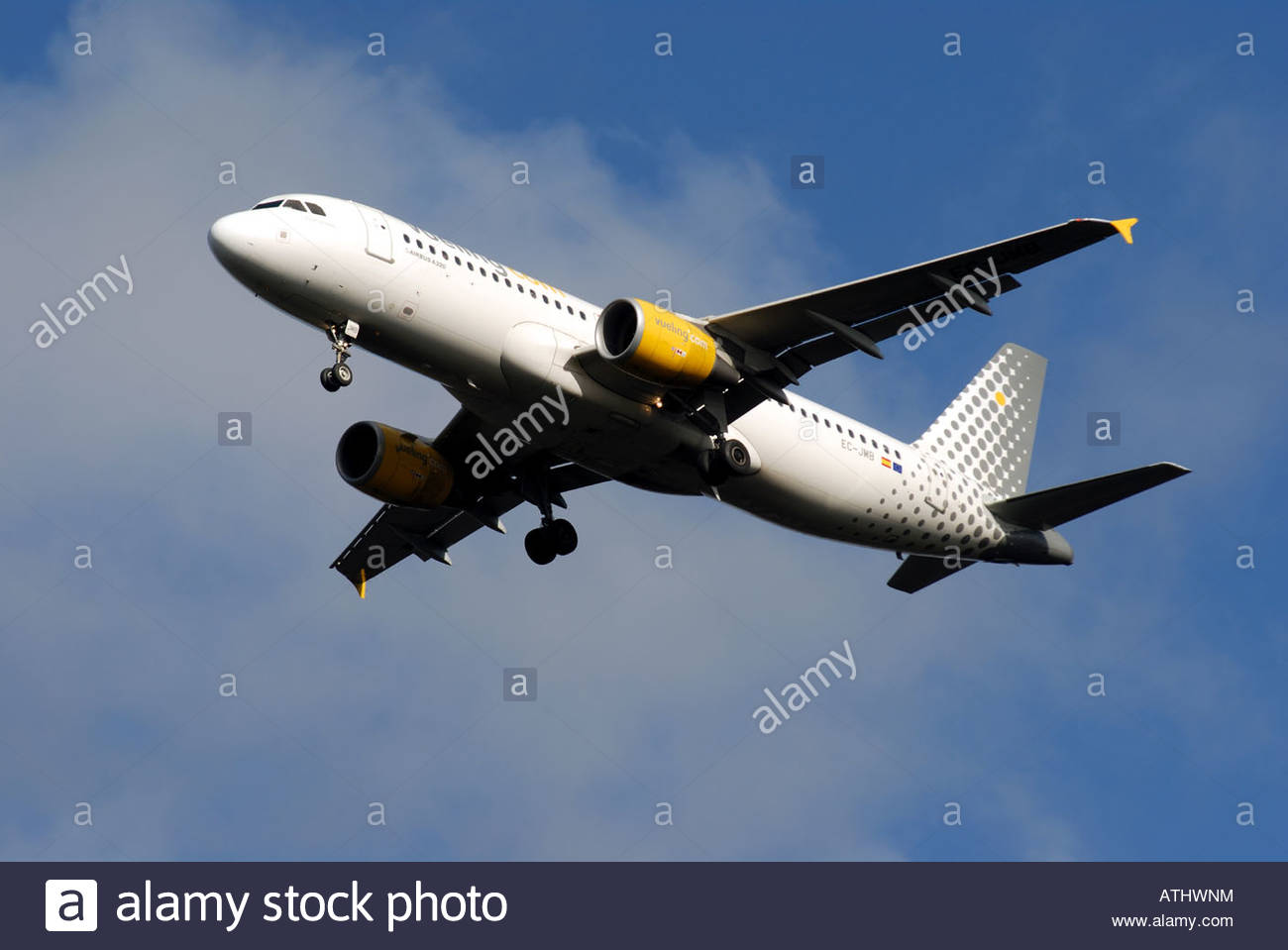 Vueling Airlines Airbus A320 EC-JMB - Stock Image