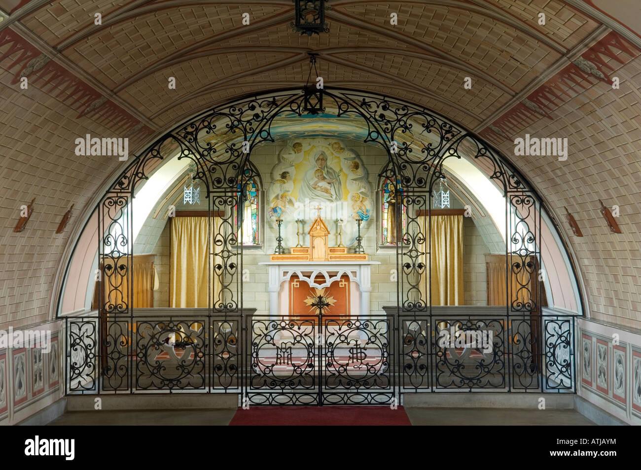 Church Altar Rail Stock Photos & Church Altar Rail Stock Images - Alamy