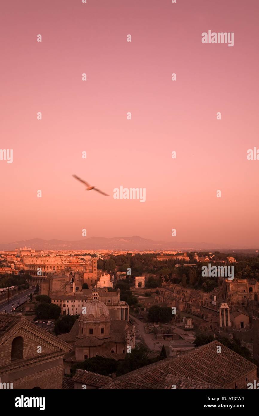 Roman Forum Rome Italy - Stock Image