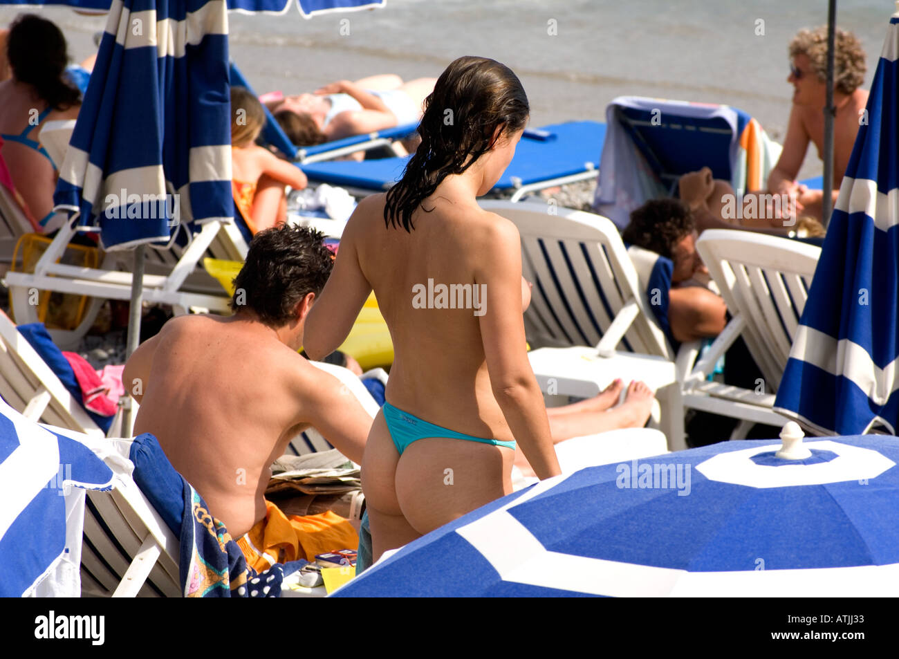 31c2722a60801a Thong Bikini Stock Photos   Thong Bikini Stock Images - Alamy