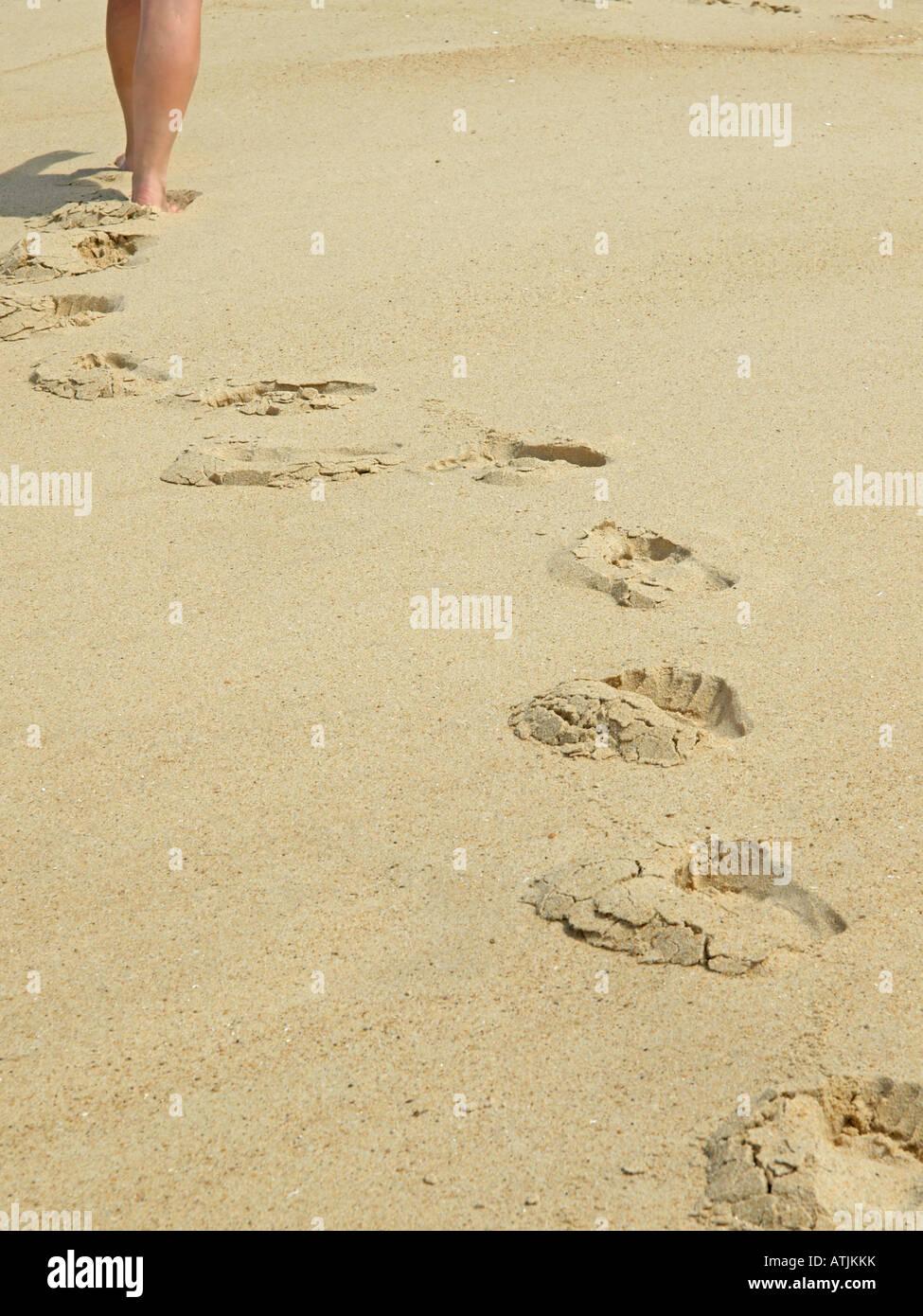 Footprints On Feet Stock Photos & Footprints On Feet Stock Images ...