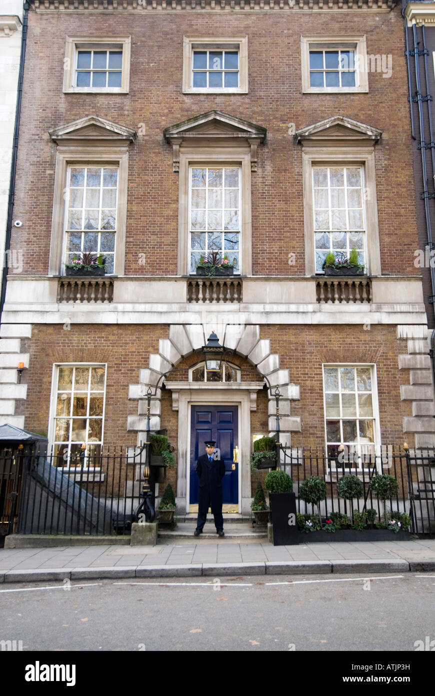 The Clermont Club in Berkeley Square Mayfair London England UK - Stock Image
