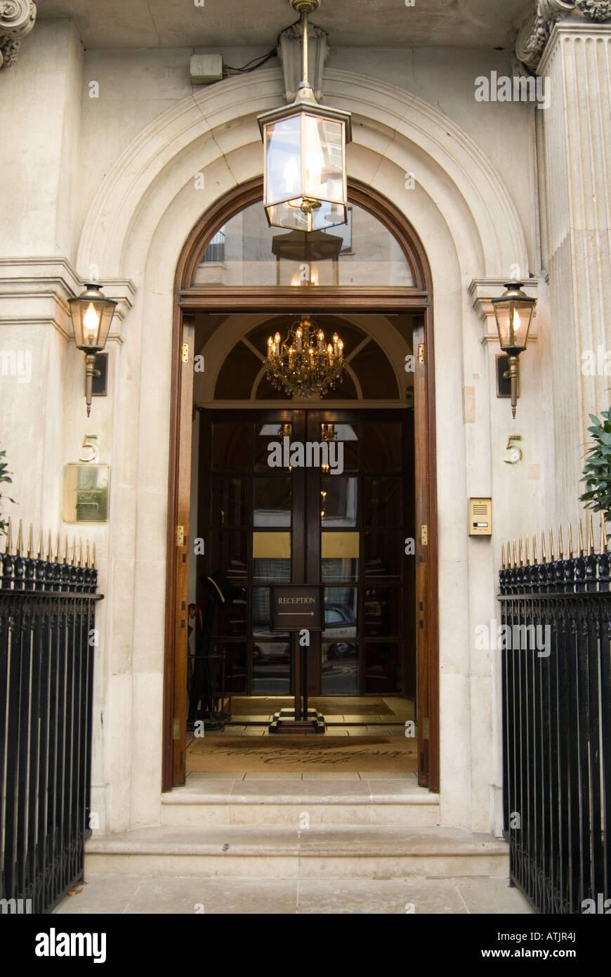 Les Ambassadeurs Club in Mayfair, London England UK - Stock Image