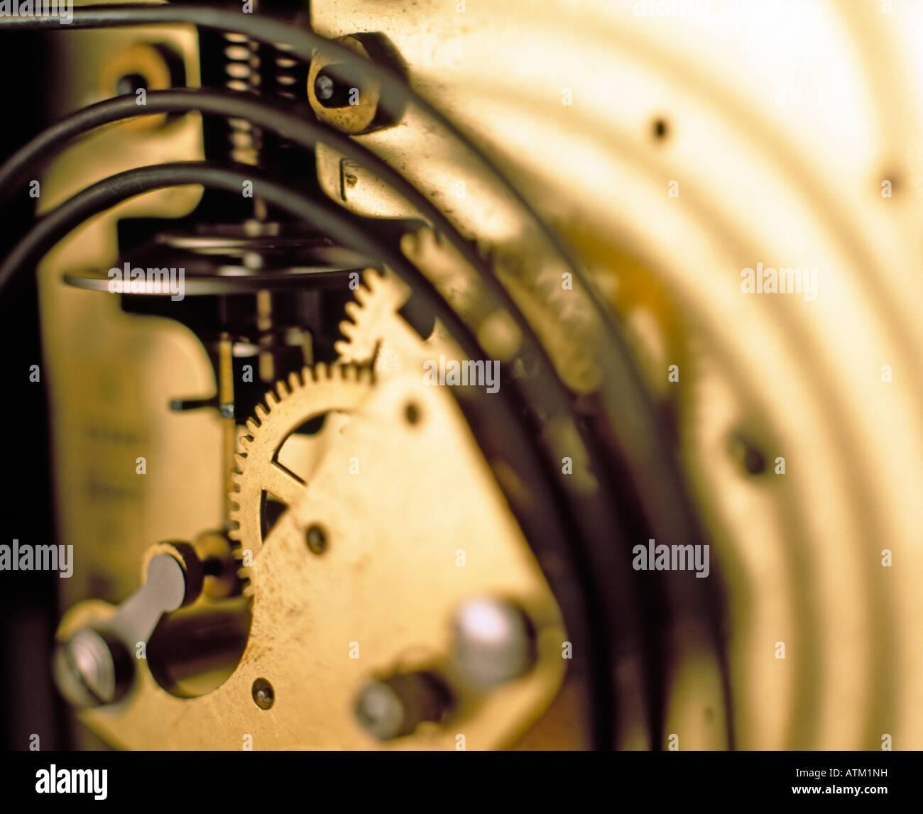 Clockwork - Stock Image